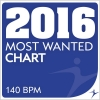 2016 Most Wanted - Chart - 140bpm