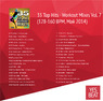 35 Top Hits Workout Mixes Vol 7 (128-160 BPM, Май 2014)