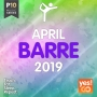Barre - April 2019 (124 BPM, 60 мин, май 2019)