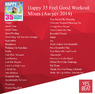 Happy 35 Feel Good Workout Mixes (Август 2014)