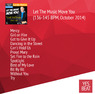 Let The Music Move You (136-145 BPM, October 2014)