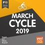 P10 Cycle March 2019 (94-170 BPM, 67 мин, май 2019)