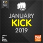 Kick January 2019 (140 BPM, 60 мин, февраль 2019)