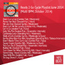 Ready 2 Go Cycle Playlist June 2014 (Multi BPM, October 2014)