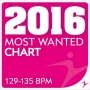 2016 Most Wanted - Chart - 129-135bpm (129-135 BPM, Февраль 2017)