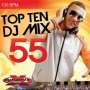 Top 10 DJ Mix 55 (130 BPM, Август 2015)