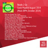 Ready 2 Go Cycle Playlist August 2014 (Multi BPM, October 2014)