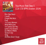 Trax Music Free Step 3 (126-130 BPM, October 2014)