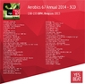 3CD Aerobics 67 Annual 2014 (130-155 BPM, Февраль 2015)